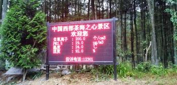 负氧离子环境监测系统