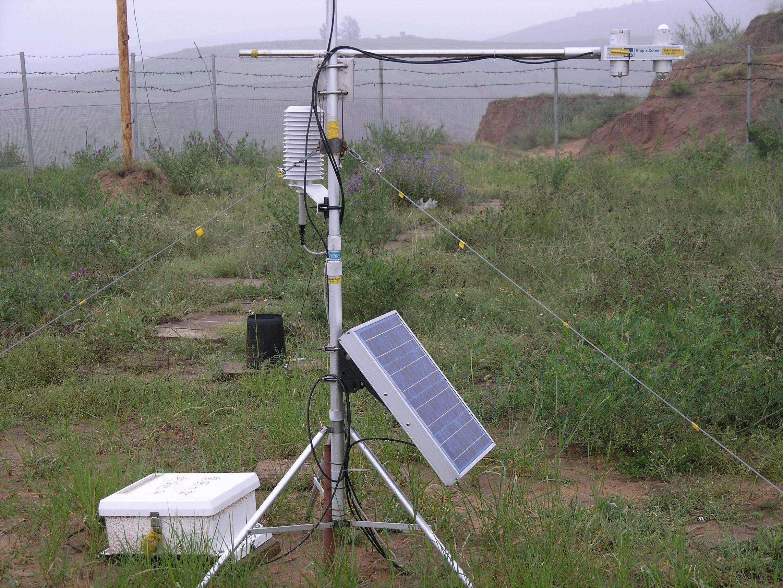 生态环境监测站径流小区气象监测站