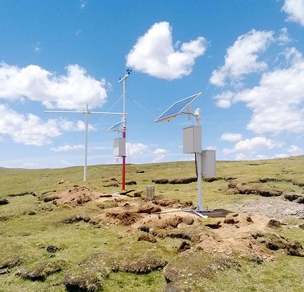 景区多参数气象监测站