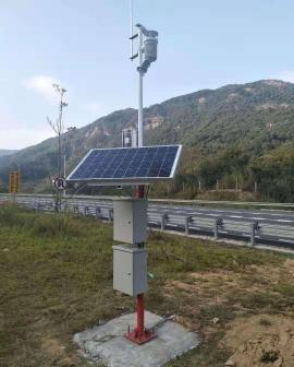 全自动太阳能气象环境监测站助力那曲地区交通发展.jpg