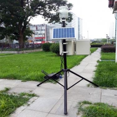 全自动便携式气象环境监测站