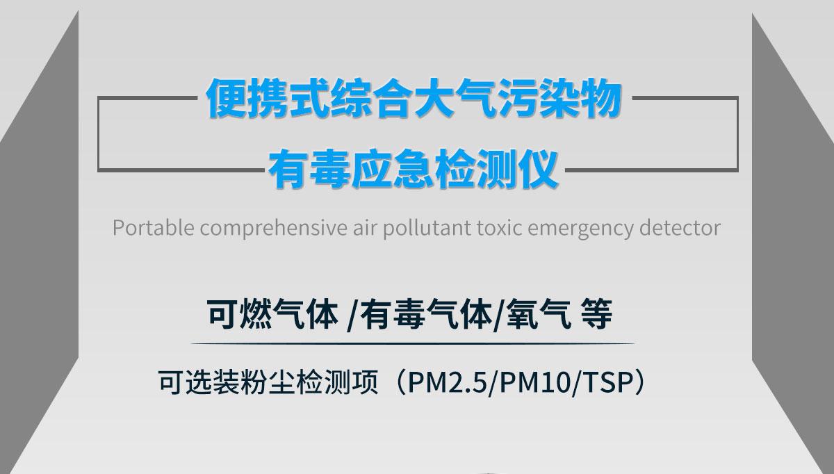 便携式多参数环境检测仪