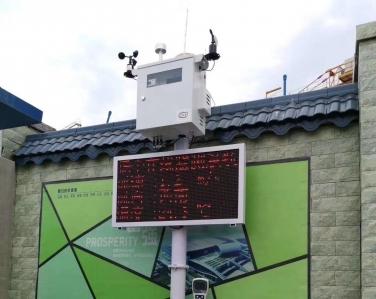 知识城南方医院项目扬尘监测设备案例